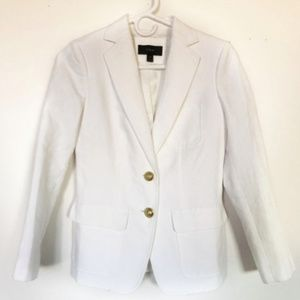 J Crew Schoolboy Linen Blazer Size 00P